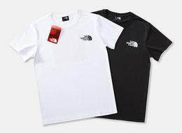 T-shirt dos homens 2019 Tide marca carta clássica LOGOTIPO impressão manga Curta moda Lazer Algodão Meia manga vendas Direto Da Fábrica