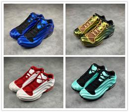 $enCountryForm.capitalKeyWord Australia - 2019 new mens penny hardaway Foam One Signature Player OG basketball shoes high quality jade Blue White boy sports running designer sneakers