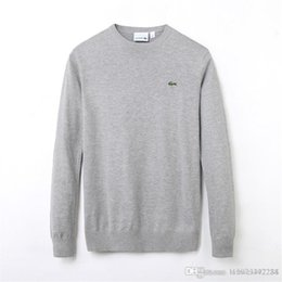 Golf sweaters online shopping - Men s golf autumn winter sweater new style base sweater round neck pullover long sleeve fashion casual hoodie colors