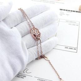 $enCountryForm.capitalKeyWord Australia - New Fashion Brand Hollow Link Bracelet Unisex Luxury Design Chain Bracelets Men Women Titanium Steel 18K Gold Rose Silver Bracelets with Box