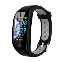 $enCountryForm.capitalKeyWord Australia - Couple Fitness Smart Watch Bluetooth Activity Tracker With Heart Rate Oxygen Blood Pressure Monitor Waterproof Smart Watch Newly