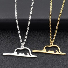 $enCountryForm.capitalKeyWord NZ - New Costume Jewelry Snake Animal Boa Constrictor Digesting Elephant Charm Necklaces Le Petit Little Prince Necklace Gift #275193