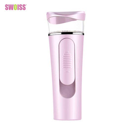 portable face steamer NZ - 2018 Portable Nano Facial Steamer Mist Sprayer Facial Sprayer Water Supply Mini USB Face Spray Instrument Moisturizing