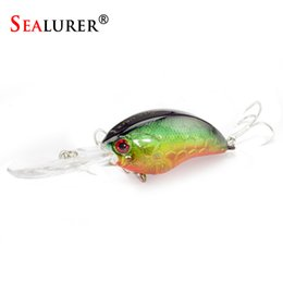 topwater lures Australia - SEALURER Boxed 1Pcs Fishing Lures Float Crankbait Minnow High Quality Tackle 90mm 12.1g Topwater Wobblers with