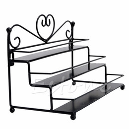 $enCountryForm.capitalKeyWord UK - New 3 Tier Metal Heart Nail Polish Display Wall Rack Organizer Stand