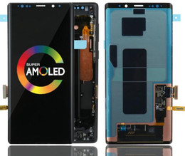 Samsung Note Lcd Australia - ORIGINAL SUPER AMOLED 6.4'' LCD with frame for SAMSUNG GALAXY Note 9 Note9 N960D N960F Display Touch Screen Digitizer Assembly