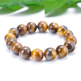 $enCountryForm.capitalKeyWord NZ - New Multiple Size Tiger Eyes Beads Bracelet Natural Stone Braslet For Men Jewelry Accessories Male Pulseira bileklik