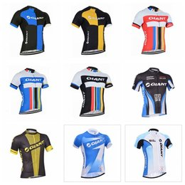 $enCountryForm.capitalKeyWord Australia - 2019 GIANT Pro team men Cycling Jersey Mountain Bike Clothes Quick Dry Short sleeve shirt Bicycle Sports wear Cycling clothing K122825