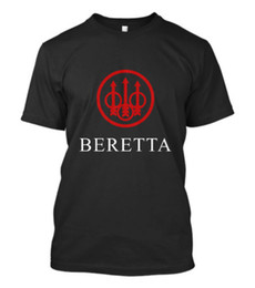 men t shirt gun Australia - New Beretta Gun T-SHIRT Sniper Riffle Firearms Logo Men Tee Size S - 5XL Comfortable t shirt Casual Short Sleeve Print tees cheap wholesale