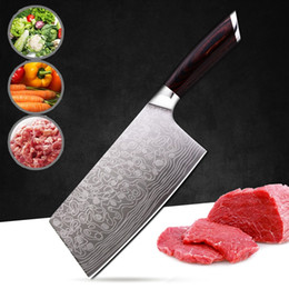 $enCountryForm.capitalKeyWord NZ - Kitchen Germany 4116 Stainless Steel Chef Knife Cleaver Butcher Knife Meat Vegetable Knife with Wooden Handle