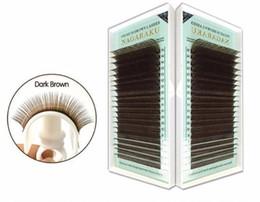 $enCountryForm.capitalKeyWord Australia - Mix 7~15mm,brown Eyelash Extension Lashes Brown Eyelashes. False Eyelashes Light Brown Color 2019 Cilios