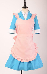 Cosplay Maid Outfits NZ - Danganronpa 3: The End of Hope's Peak Academy - Side: Despair Chisa Yukizome Maid Suit cosplay school uniform outfit