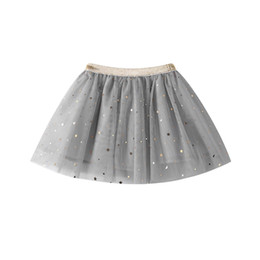 girl baby blue tutu skirt UK - New Fashion Baby Kids Girls Princess Stars Sequins Party Dance Ballet Tutu Skirts tule skirt girls children skirt