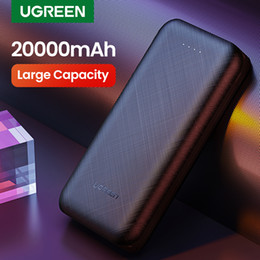 mini portable iphone external charger UK - Ugreen Power Bank 20000mAh External Mobile Battery Charger Portable Fast Phone Charger for Samsung S10 iPhone 8 Mini Poverbank