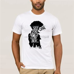 $enCountryForm.capitalKeyWord NZ - Cool Fashion Anime Cowboy Bebop T-shirt Uncle Spike Spiegel Men See You Space T Shirt Summer Smoking Tee Shirt Fans Clothing