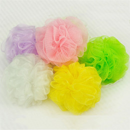 Cleaning Towels Australia - Flower Bath Ball Bath Tubs Cool Ball Bath Towel Scrubber Body Cleaning Mesh Shower Wash Sponge For Body For Bathroom Accessories