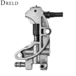 Oil Stroke Australia - chinese DRELD 2-Stroke Oil Pump Chainsaw Forced Air Cooling for 5200 4500 5800 58 52CC 45CC Chinese Chainsaws Petrol Power