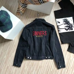 vintage style clothing men Canada - New Arrival Men Designer Denim Jackets Fashion Jacket Women Vintage Style Selvedge Jean Coats Brand Clothing Denim Coats