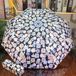 $enCountryForm.capitalKeyWord Australia - Easy Carrying Umbrella for Woen Multicolor Painted Exquisite Pattern Bonzer Umbrella High Heat Insulation Property Outdoor Sunshade