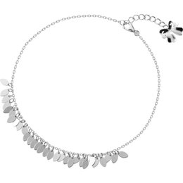 Wholesale Beautiful Masculine Leaves Sterling Silver Anklet