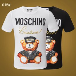 Wholesale pp shirts online – design Hot Sale T Shirt For Men Tshirt PP Fashion Summer Skulls Hip Hop Cotton T Shirts Casual Male Short Sleeve O Neck Tops Tees