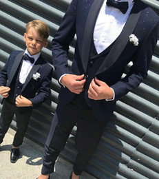 plaid design NZ - Fashion Sparkly Black Men Suits Check Design Suits 3 Pieces One Button Groom Wedding Tuxedos Custom Made Business Men Wear