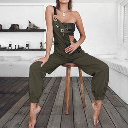 Jumpsuits Tights Australia - Women's Loose Overalls Bottoms Pants Tights Casual Trousers Jumpsuit Skinny Streetwear Bodysuit Rompers Womens Jumpsuit T3190605