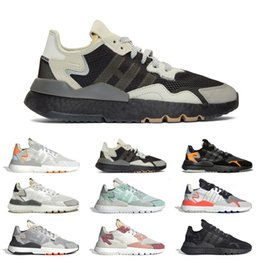 $enCountryForm.capitalKeyWord Australia - 2019 Cheap 3M reflective nite jogger shoes women mens running shoes Beige Core black white Beige TRACE PINK ICE MINT mens sports sneakers