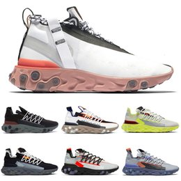 ghost running shoes NZ - 2020 New React Lw Wr Mid Ispa Men Running Shoes Ghost Aqua Anthracite Blue Orange Gun Smoke Women Mens Trainers Sports Sneakers 36-45