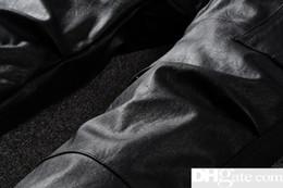 Designer Leather Trousers Australia - Mens Designer Jeans Pants Men Pure Leather pants Mens Designer Pants Men Comfortable Trousers Mens JeansDSQ