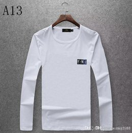 cotton brands NZ - New Ice Silk Cotton Autumn and Winter Fashion Men and Women Round Collar Sweater Brand Autumn Fashion Long Sleeve T-Shirt JP0828-10