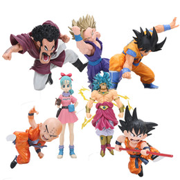 Discount figure dragon ball collection - action Dragon Ball z Cultures Big Budoukai 7 Hercule Collection Super Saiyan Goku Son Gohan Bulma Dragonball Z Action Fi