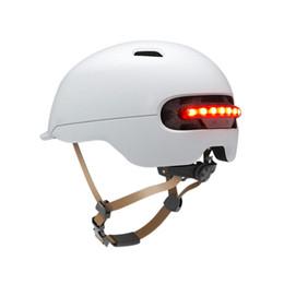 $enCountryForm.capitalKeyWord Australia - Flash Helmet for Xiaomi M365 Electric Skateboard Scooter Electric Car Smart Flash Riding Helmets