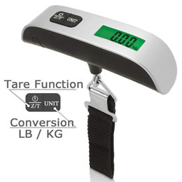 Weight counting scale online shopping - New Portable LCD Display Electronic Hanging Digital Lage Weighting Scale kg g kg lb Weight Scales DHL FEDEX