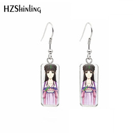 $enCountryForm.capitalKeyWord Australia - 2019 Hot Drama The Untamed modaozushi Weiwuxian Stainless Steel Square French Hook Earring Dangle Sweet Summer Accessory Jewelry