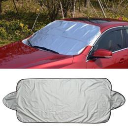 Block Protection Australia - Good Sale Car Snow Ice Protector Visor Sun Shade Fornt Rear Windshield Cover Block Shields Drop Shipping