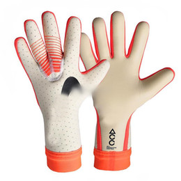 soccer mittens NZ - Professional Soccer Goalkeeper Gloves without Finger Protection Thickened Latex Football Tools Gloves Goal keeper Gloves
