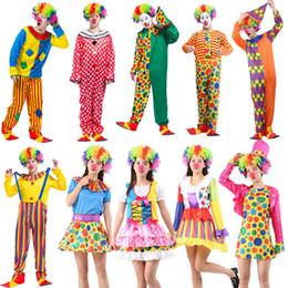 $enCountryForm.capitalKeyWord Australia - MAN Halloween Funny Clown Costumes girl Christmas Adult Woman Man Joker Cosplay Party Dress Up lovely Xmas New Year Suits