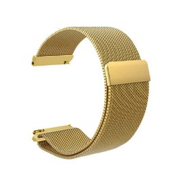 Discount huawei smart watches - Milanese TalkBand Magnetic Stainless Steel Watchband Strap Metal Bracelet for Strap Replacement for Huawei B5 Smart Watc
