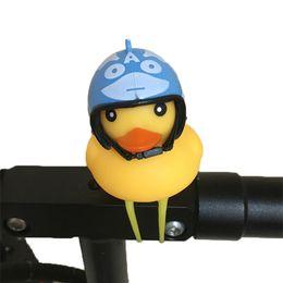 $enCountryForm.capitalKeyWord Australia - Bicycle Duck Bell with Light Broken Wind Small Yellow Duck MTB Road Bike Motor Helmet Riding Cycling Accessories