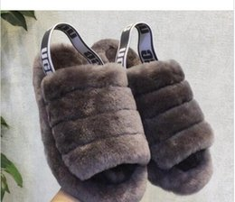 $enCountryForm.capitalKeyWord Australia - drop shipping explosion models new baby with flat flat wool slippers furry impression cherry powder yeah cool snow boots