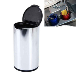 $enCountryForm.capitalKeyWord UK - Car Trash Bin Auto Waste Bin Portable Vehicle Rubbish Can Trash Dustbin Garbage Dust Bin for Auto Ashtray Car Accessories
