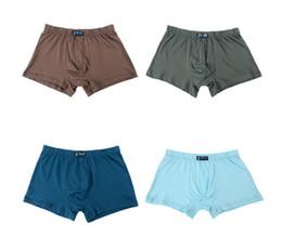 $enCountryForm.capitalKeyWord Australia - Large yard Men's wear Large loose male cotton Underwears Boxers high waist panties breathable fat belts Big yards men's underwear