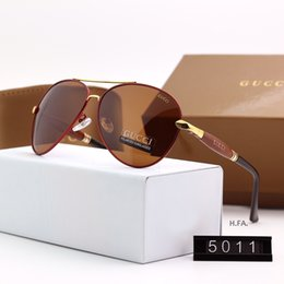 Stylish Glasses Women NZ - Designer mens Sunglasses Summer Stylish Brand Sunglasses Luxury Sunglasses 2019 New Fashion for Men Women Glass UV400 6 Style with Box G5011