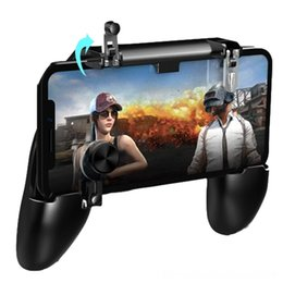 original controllers gamepad NZ - Original PUBG Mobile Controller Gamepad Android Joystick Metal L1 R1 Trigger Button for Game Controllers & Joysticks Game Accessories iPhone