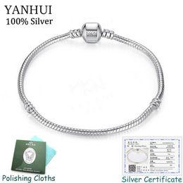 $enCountryForm.capitalKeyWord Australia - Free Sent Certificate! 925 Solid Silver Charm Bracelets For Women Long 16-23cm Wide 3mm Snake Bone Bracelets Fine Jewelry Sl005 MX190719