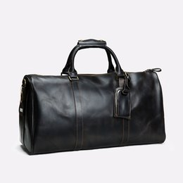 $enCountryForm.capitalKeyWord UK - 2019 men duffle bag women travel bags hand luggage luxury designer travel bag men pu leather handbags large cross body bag totes 55cm
