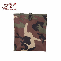 Magazine duMp pouch online shopping - Tactical Magazine Dump Drop Utility Pouch Sundries Drop Air soft Military recycling bags Nylon Light Wight Recycle Bag