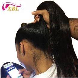 Discount indian straight human hair wigs - Lace Front Human Hair Wigs 13BY6 Swiss Lace Human Hair Wig Virgin Human Hair Half Wig