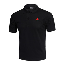 $enCountryForm.capitalKeyWord Australia - Classic Fashion Golf Polo Shirt White Men Summer Breathable Quick Dry Sport Training Short Sleeve Sportswear Workout Cotton T-shirt